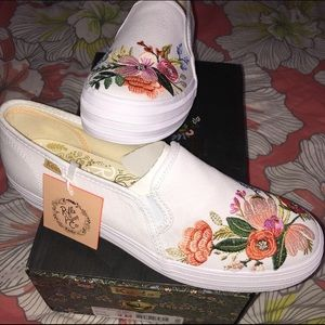 Keds x Rifle Paper CO floral embroidered sneakers